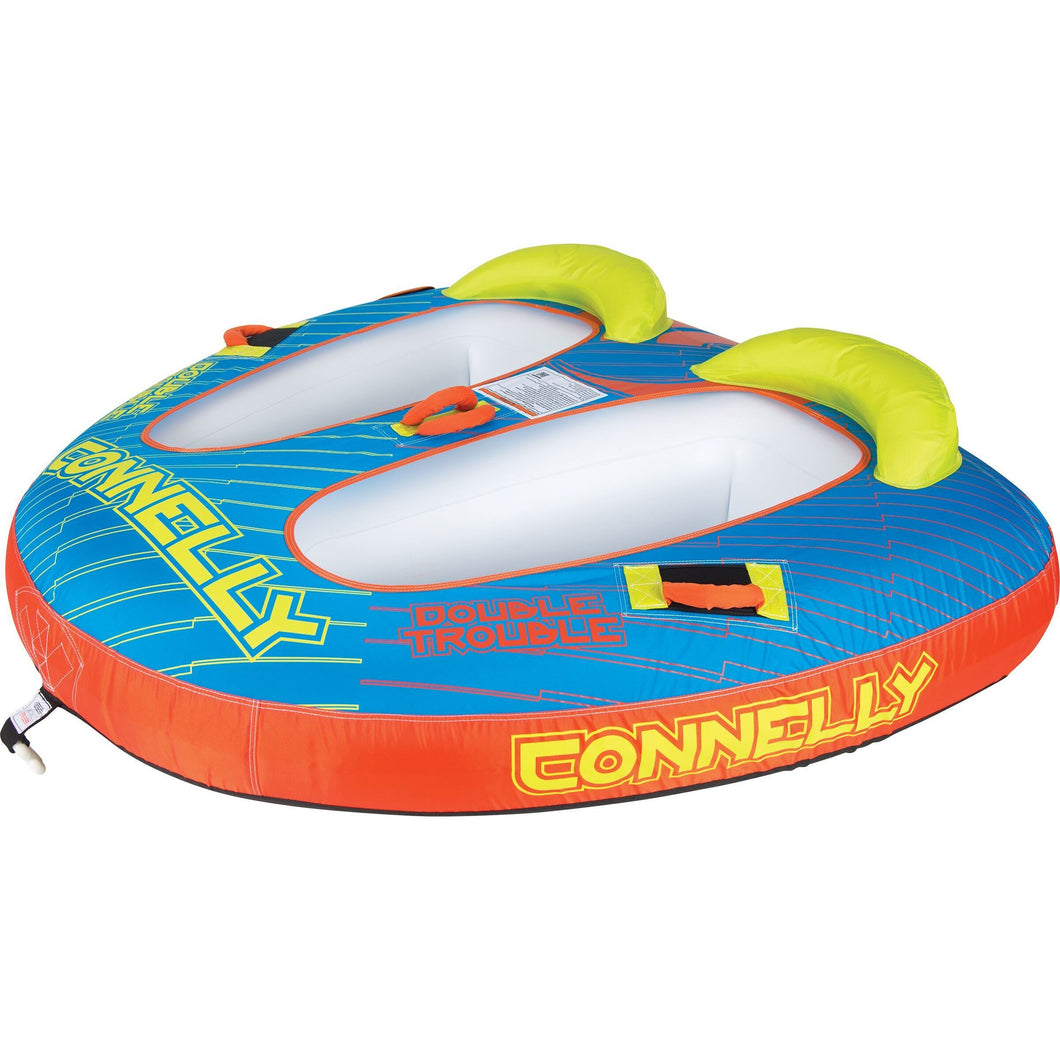 Towables / Tubes - Connelly Double Trouble 2-Person Towable Tube