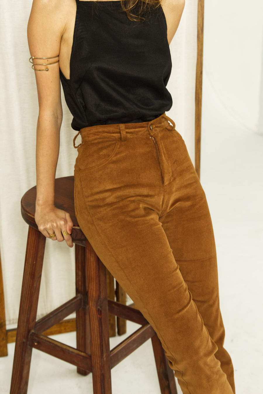 The Flared Pants in Corduroy