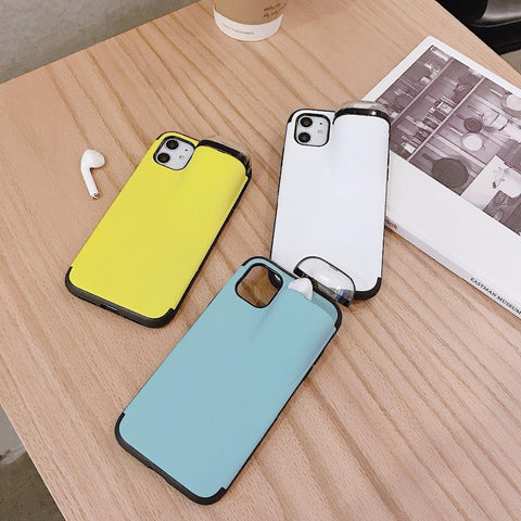 Airpods Phone Case 2 In 1 Wireless Headset Protection Shockproof I Tecbundles