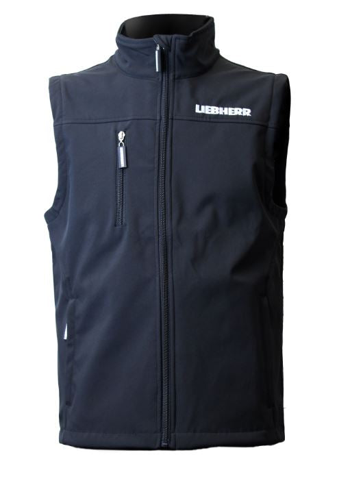 Black Soft Shell Vest