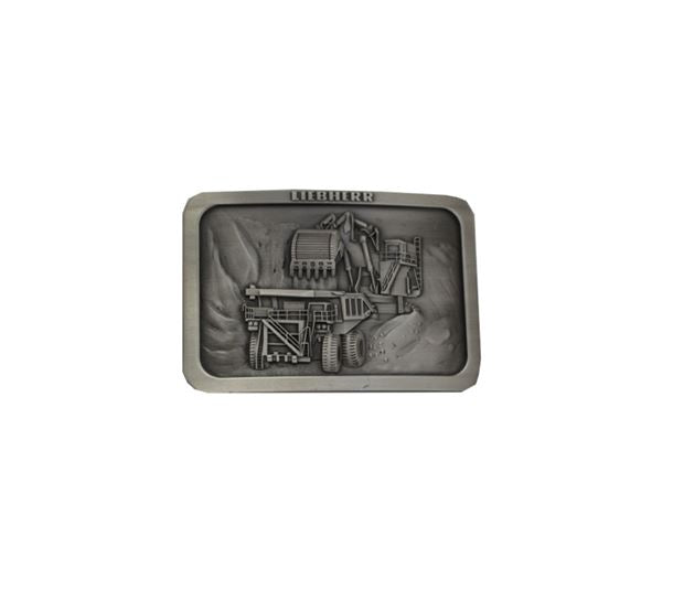 Belt Buckle – Truck And Excavator
