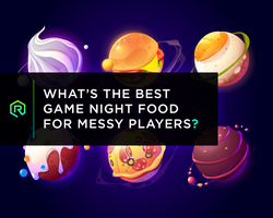 What's the Best Game Night Food for Messy Players? | Rollacrit