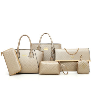 Women's Leather Handbags Female Luxury Bags High Quality PU Fashion - FashionBunkers