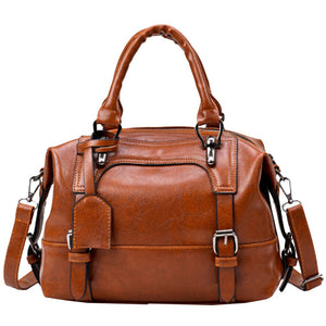 Women Evening Handbag Soft Leather Bags Female Vintage - FashionBunkers