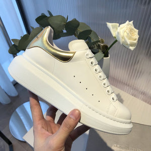 Platform Women Sneakers 2020 Cow Leather Alexand Shoes - FashionBunkers
