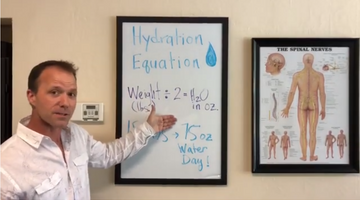 Wednesday's Wellness Tip: Hydration Equation