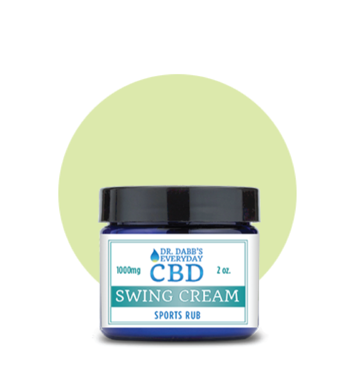 Swing: 1000mg CBD Cream - 2oz