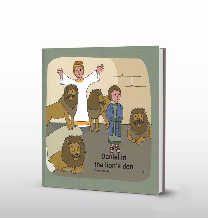 Daniel in the Lions Den (English)