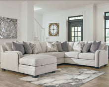 Load image into Gallery viewer, Dellara Benchcraft 4-Piece Sectional with Chaise image