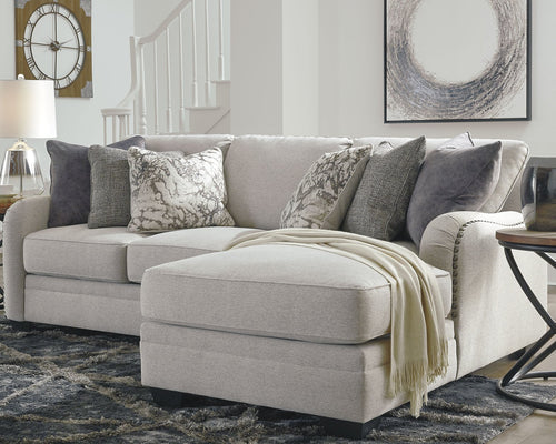 Dellara Benchcraft 2-Piece Sectional with Chaise image