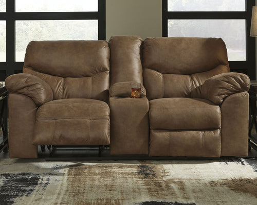 Boxberg Signature Design by Ashley DBL REC PWR Loveseat wConsole image