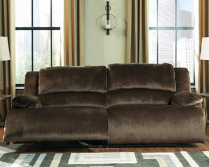 Clonmel Signature Design by Ashley 2 Seat Reclining Power Sofa image