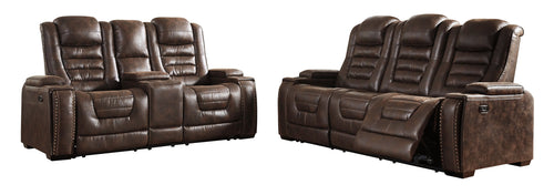 Game Zone Signature Design Contemporary 2-Piece Living Room Set image