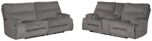 Coombs Signature Design Power Reclining 2-Piece Living Room Set image