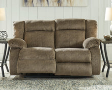 Load image into Gallery viewer, Burkner Signature Design by Ashley Reclining Power Loveseat image