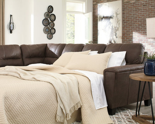 Navi Signature Design by Ashley Sectional image