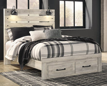 Load image into Gallery viewer, Cambeck Signature Design by Ashley Bed with 2 Storage Drawers image