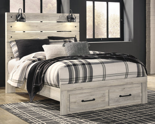 Cambeck Signature Design by Ashley Bed with 2 Storage Drawers image