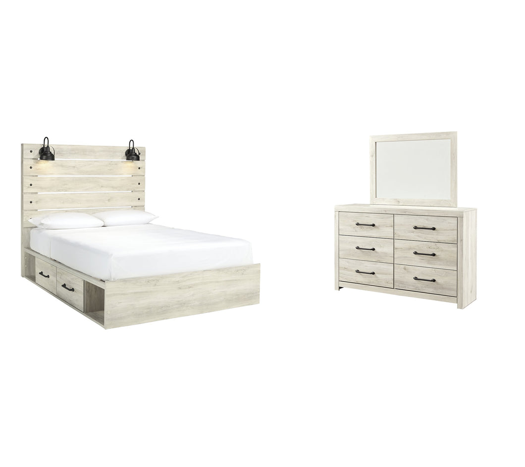 Cambeck Signature Design 5-Piece Bedroom Set with 2 Storage Drawers image