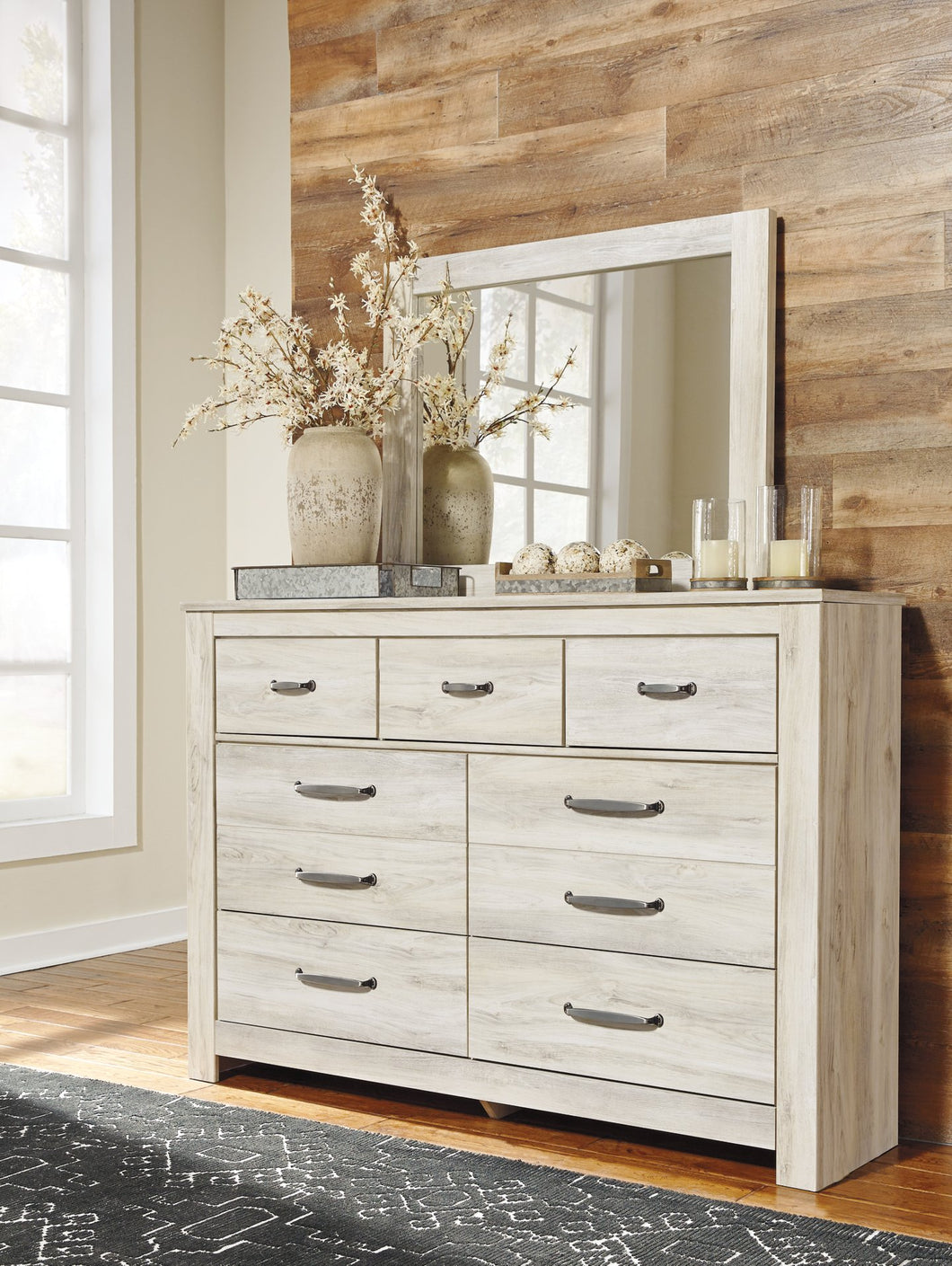 Bellaby Signature Design by Ashley Dresser and Mirror image