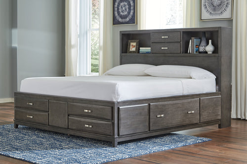 Caitbrook Signature Design by Ashley Bed with 8 Storage Drawers image