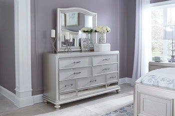 Coralayne Signature Design by Ashley Bedroom Mirror image