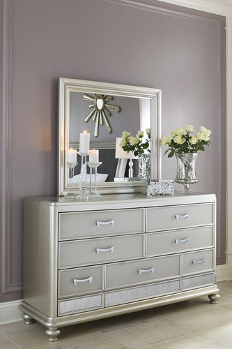 Coralayne Signature Design by Ashley Dresser and Mirror image