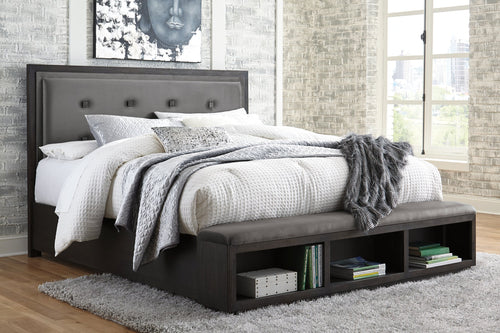 Hyndell Signature Design by Ashley Bed image