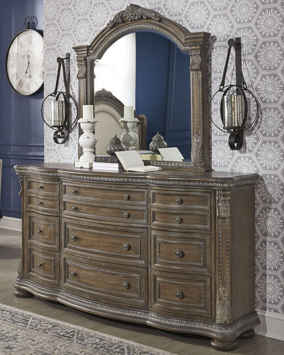 Charmond Signature Design by Ashley Dresser and Mirror image