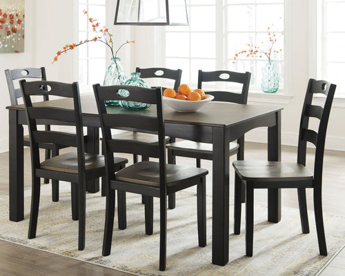 Froshburg Signature Design by Ashley Dining Table Set of 7 image