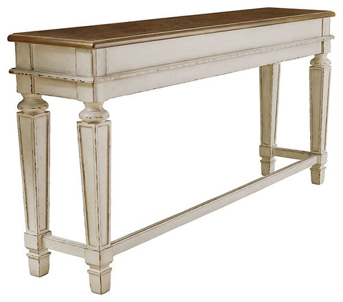 Realyn Signature Design by Ashley Counter Height Table image
