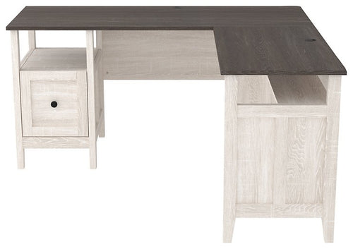 Dorrinson Signature Design by Ashley 2-Piece Home Office Desk image