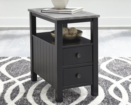 Ezmonei Signature Design by Ashley End Table Chair Side image
