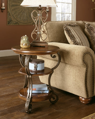 Nestor Signature Design by Ashley End Table Chair Side image