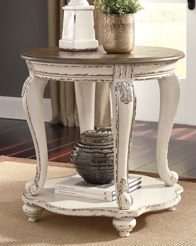 Realyn Signature Design by Ashley End Table image