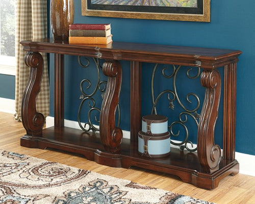 Alymere Signature Design by Ashley Sofa Table image