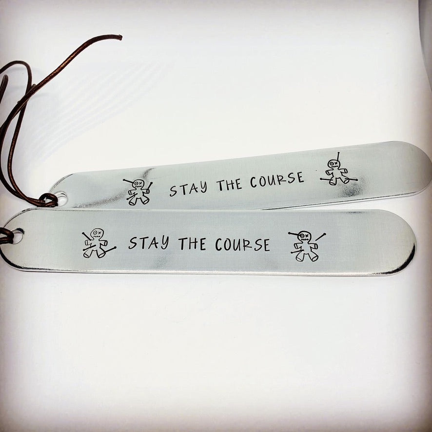 Hand Stamped Bookmark - Personalize Me!