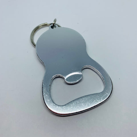 Round Hand Stamped Bottle Opener - Personalize Me!