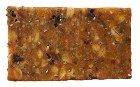 Our Apricot Chocolate bar is new and improved, now with organic, all natural apricots!