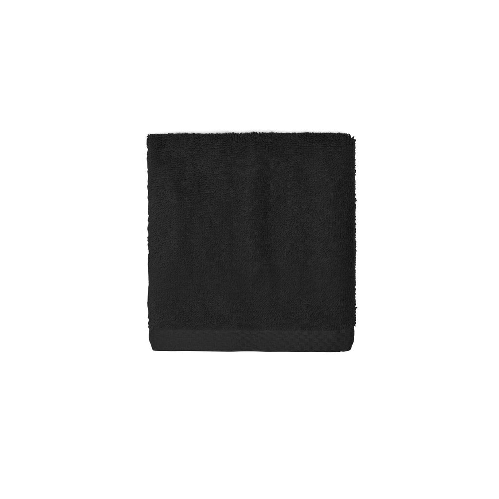 Black Luxus face towel - Torres Novas