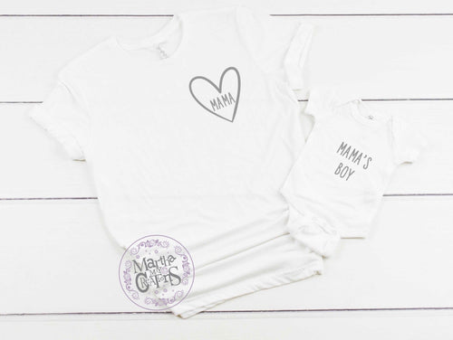 Mamas boy t-shirt set