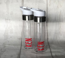 Load image into Gallery viewer, Personalised water bottles