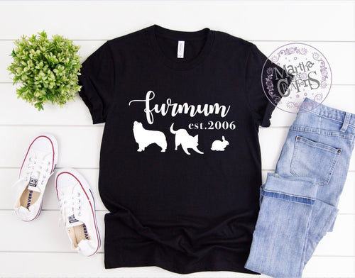 FurMum Tee (customisable)