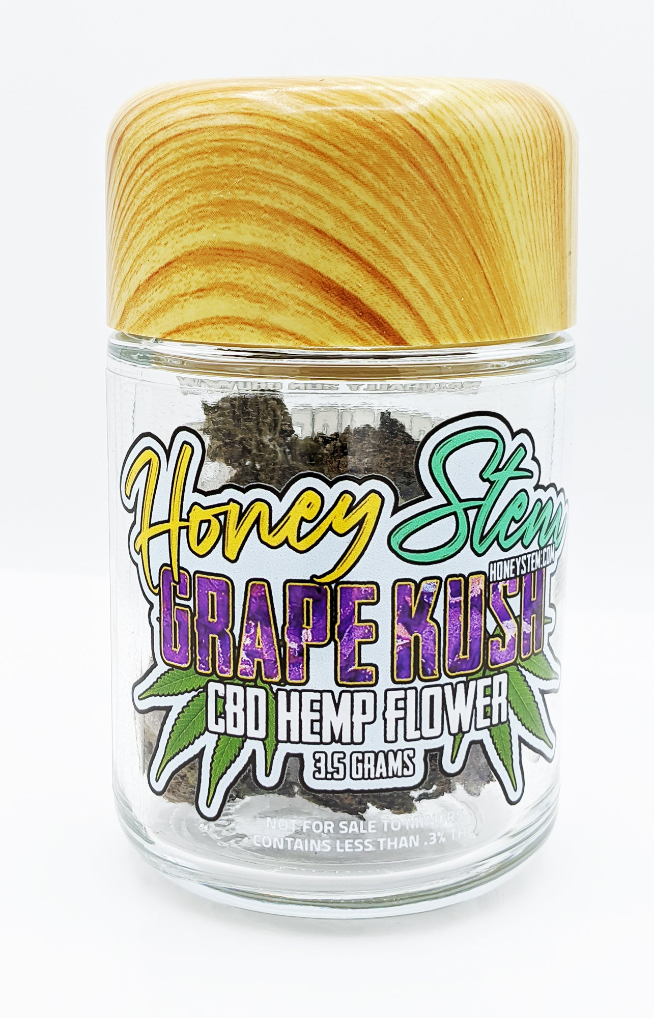 CBD Hemp Flower - Grape Kush (3.5g)