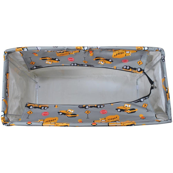 Construction Trucks Mega Shopping Utility Tote Bag