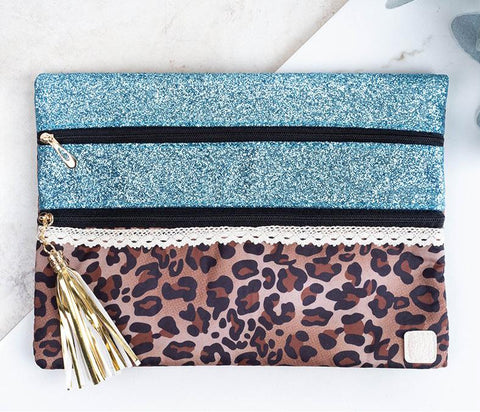 Country Glam Double Zipper Versi Bag
