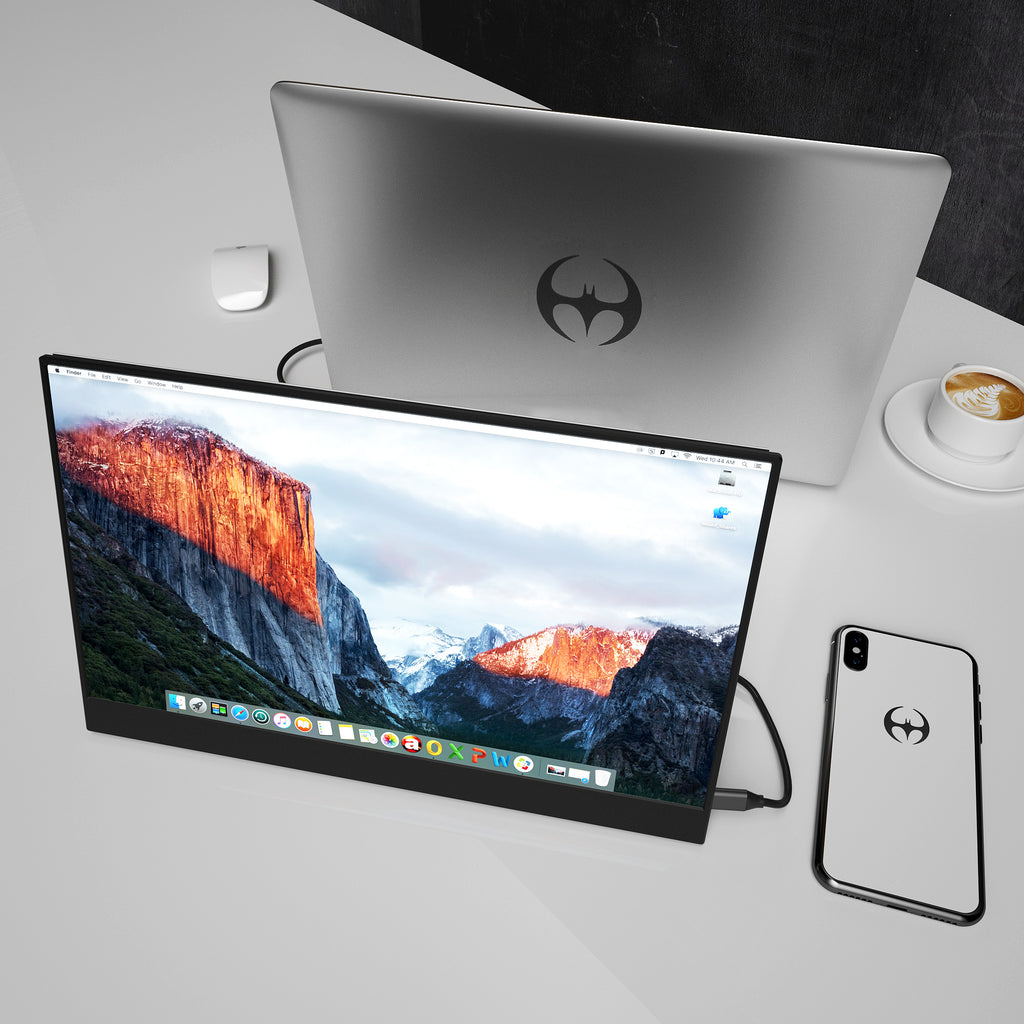 Vissle-M丨 The Perfect 15.6 inches Portable Monitor For Office and Entertainment