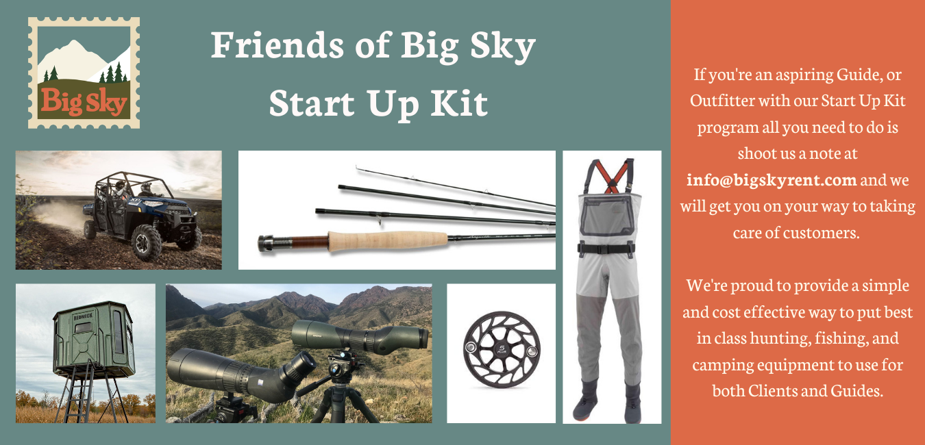 Start Up Kit for Guides and Outfitters