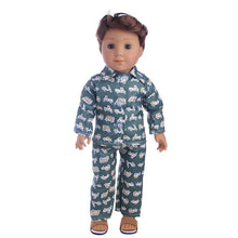 Load image into Gallery viewer, Doll Clothes 3Pcs/Set Hat+ Sweater+Jeans For 18 Inch American&43 Cm Born Logan Boy Doll Our Generation Baby Girl`s Christmas Toy