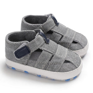 2018 Canvas Jeans New Baby Moccasins Child Summer Boys 7 Style Fashion Sandals Sneakers Infant Shoes 0-18 Month Baby Sandals